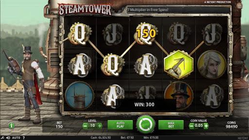 Steam Tower игровой автомат
