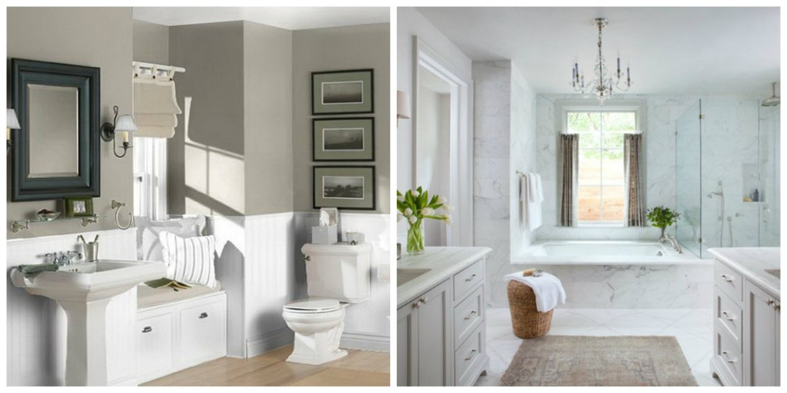 Bathroom paint colors 2019: TOP SHADES and color ...