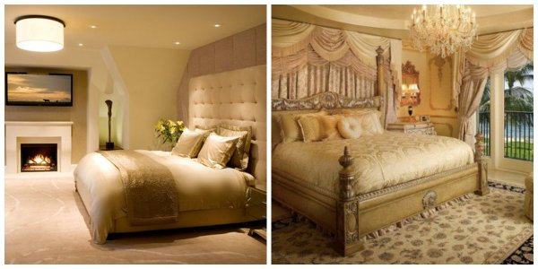 gold bedroom paint colors Bedroom paint colors 2019: trendy shades and color solutions for bedroom design