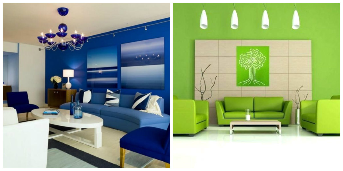 living room paint colors 2019 design black leather sofa interior 15 fashionable shades of color for blue in green
