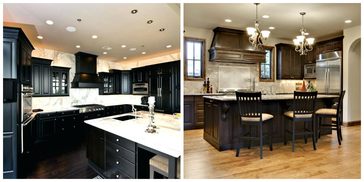colors for kitchens black kitchen tables paint 2019 best hues and color combinations in dark design