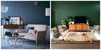 Popular living room colors 2019: trendy shades for living ...