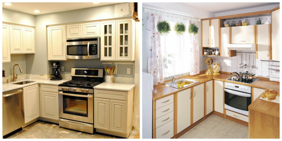 Small kitchen ideas 2019: choose one of top ideas for