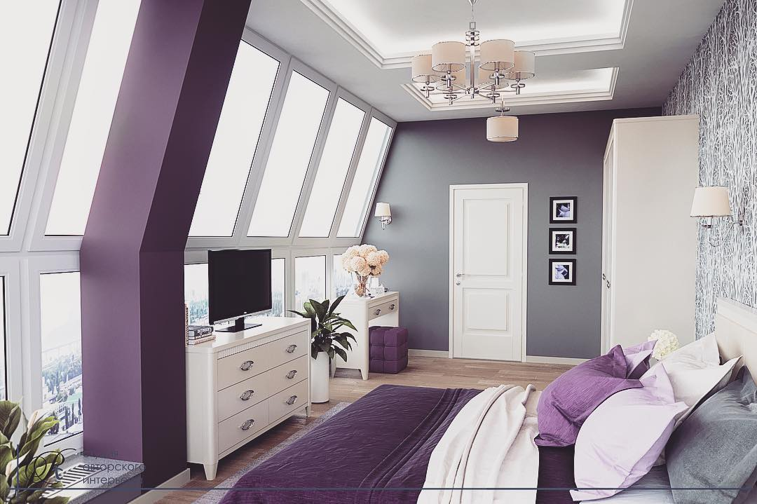 Bedroom Paint Colors 2021 Trendy Shades and Color Solutions for Bedroom Design 15+ Photos