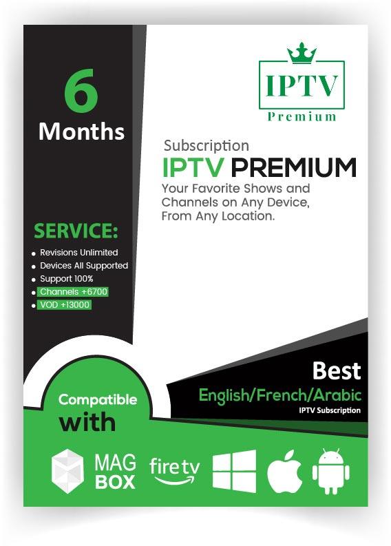 IPTV-6-Month