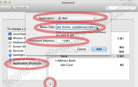 New keyboard shortcut