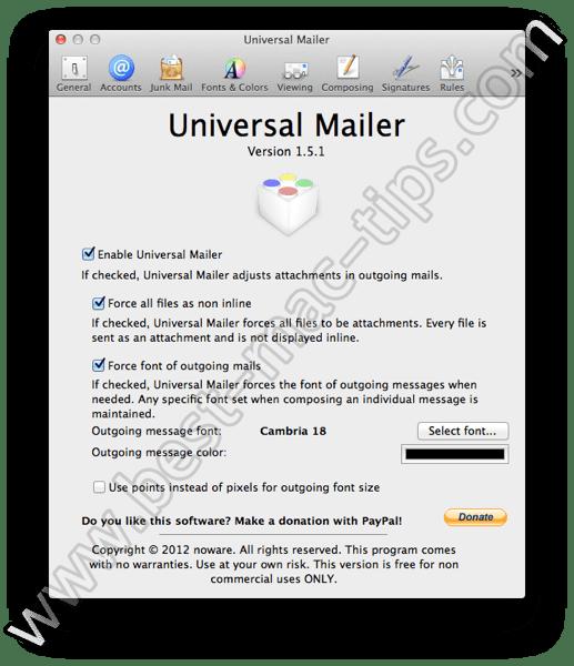 Universal Mailer 1