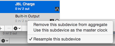 Resample Subdevices