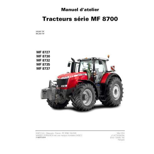 Massey Ferguson MF 8727, MF 8730, MF 8735, MF 8737 tractor