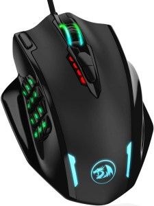 Redragon M908 Impact RGB LED MMO Gaming Mouse