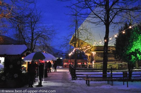 Gutach Black Forest open air farm museum - Christmas market 2012