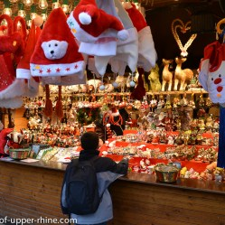 child dream at the Broglie square Christmas market in Strasbourg