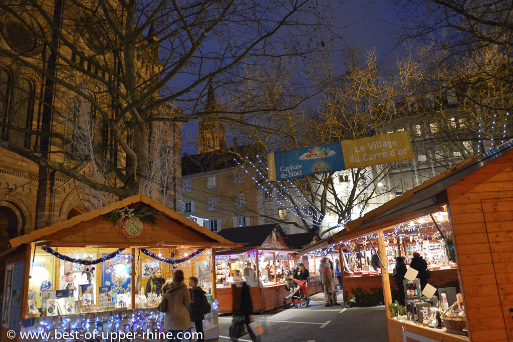 Golden Square Village, another Christmas market in Strasbourg