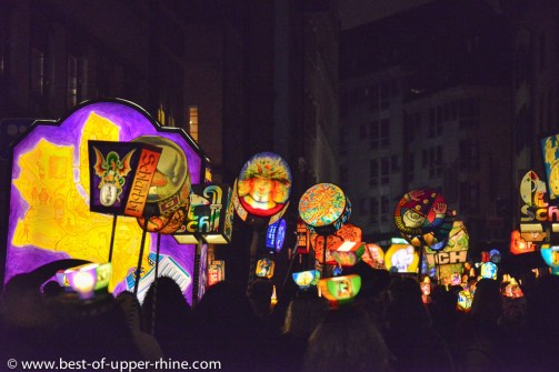 Lantern procession of the Morgenstreich - Basel Fasnacht carnival