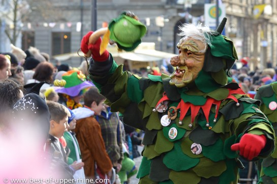 Carnival in the Upper Rhine Valley - typical characters