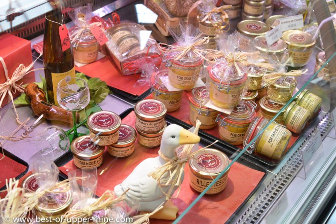 Alsace is the historical homeland for foie gras