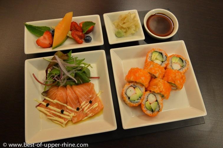 Japanese specials - plateau gastronomique