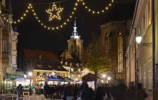 Christmas market in Colmar