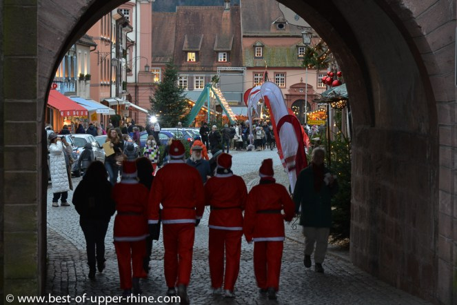 Gengenbach in Germany. Advent and Christmas time.