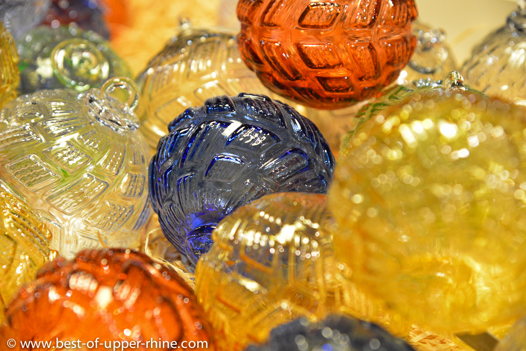 Take home your own original Christmas baubles from Meisenthal