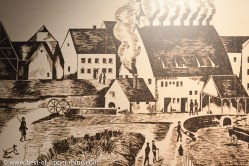 Meisenthal glass factory in the 19th Century