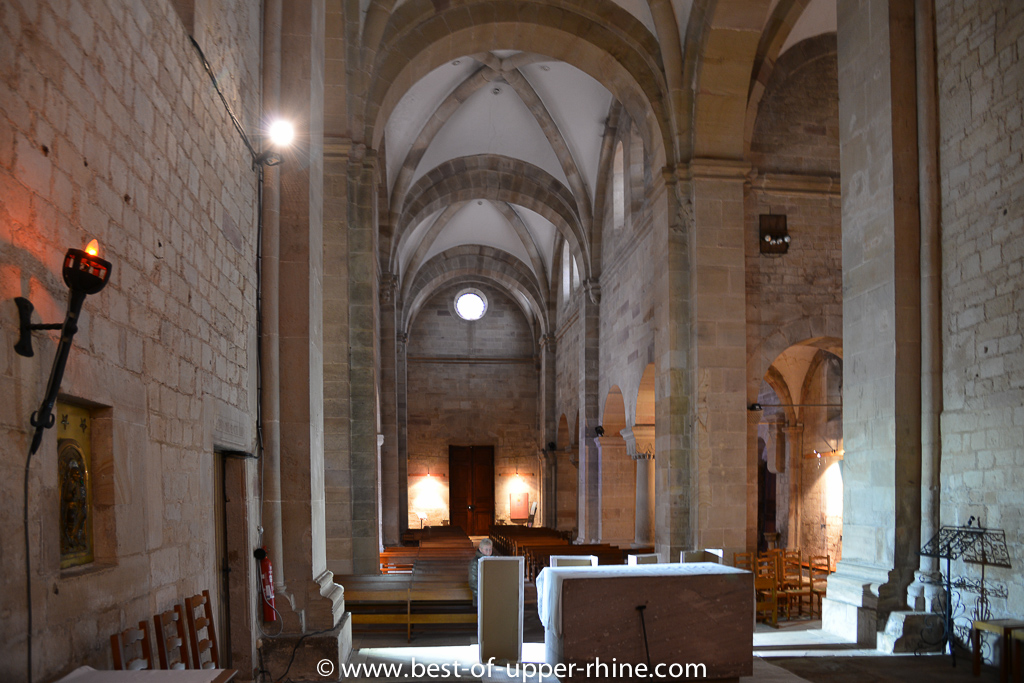 Romanesque church of St Peter and Paul in Rosheim, Alsace