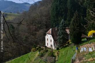Traditional farm near La Vancelle