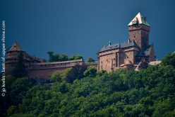 In Alsace, the characteristic silhouette of Haut-Koenigsbourg castle has been rhythming the seasons for centuries.