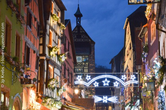 Christmas market in Riquewihr