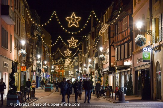 Colmar is a wonderful city for shopping and deserves a long visit during the Christmas period.