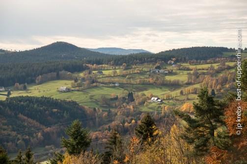On the ridge road (Route des Crêtes) near Le Linge