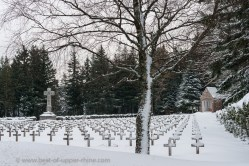 WW1 cemetery at the Wettstein pass