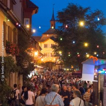 At the wine festival of Burkheim, Kaiserstuhl, Germany.