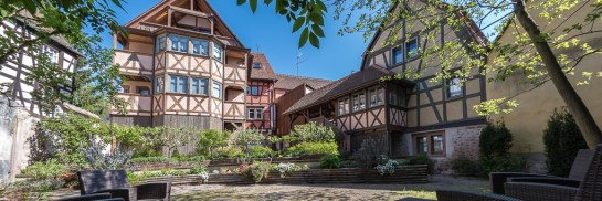 Remparts de Riquewihr is a collection of 14 charming holiday gites in Alsace, France