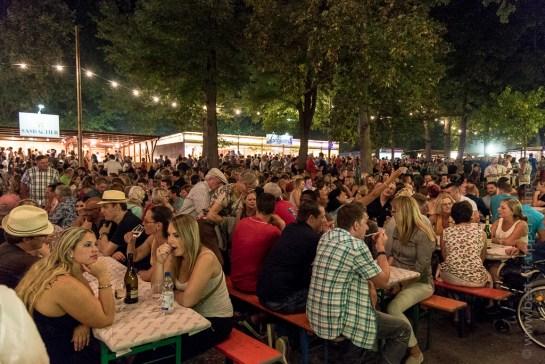 Weinfest in Breisach am Rhein, Germany.