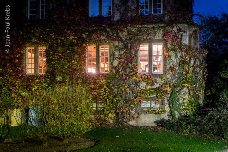 At Confrerie's St Etienne castle in Kientzheim Alsace.