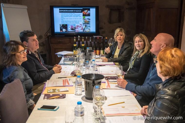 Private wine seminar in Riquewihr