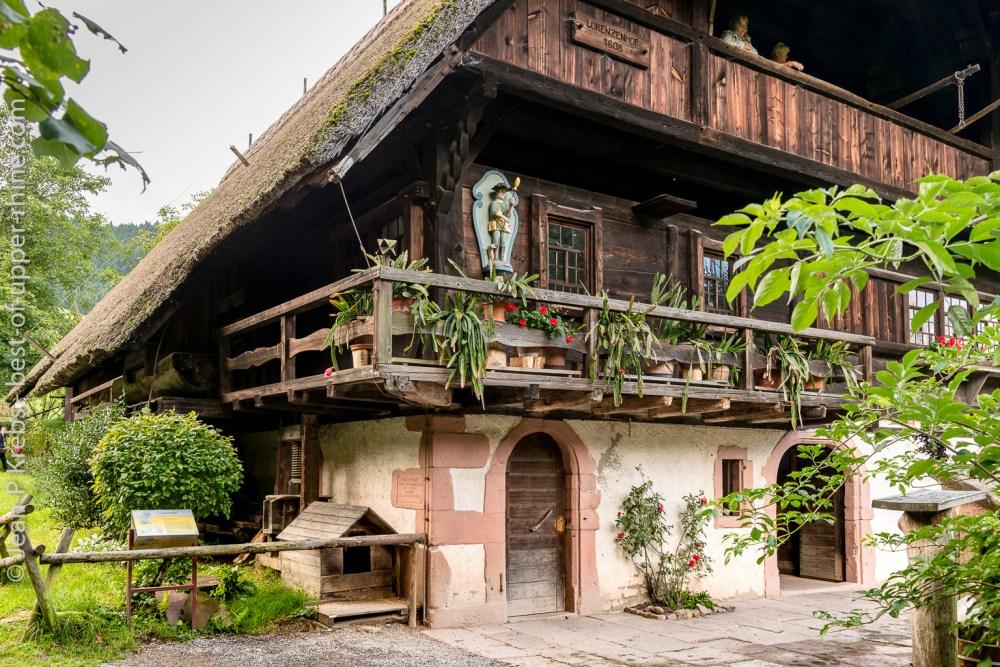 Traditional Farm, Black Forest open air museum, Gutach Vogtsbauernhof, Germany