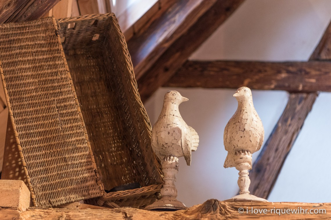 The Dove's Nest in Riquewihr, one of the most beautiful places available for holiday rental in Alsace on the Alsace Wine Route!