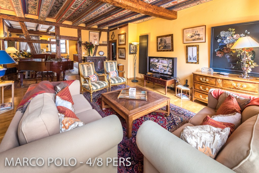 The living room in Marco-Polo, Sumptuous and spacious holiday home in Riquewihr for 6 persons