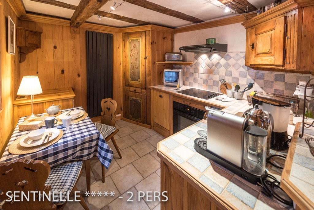 The Kitchen of the Sentinel, charming holiday apartment for 2 persons in Riquewihr