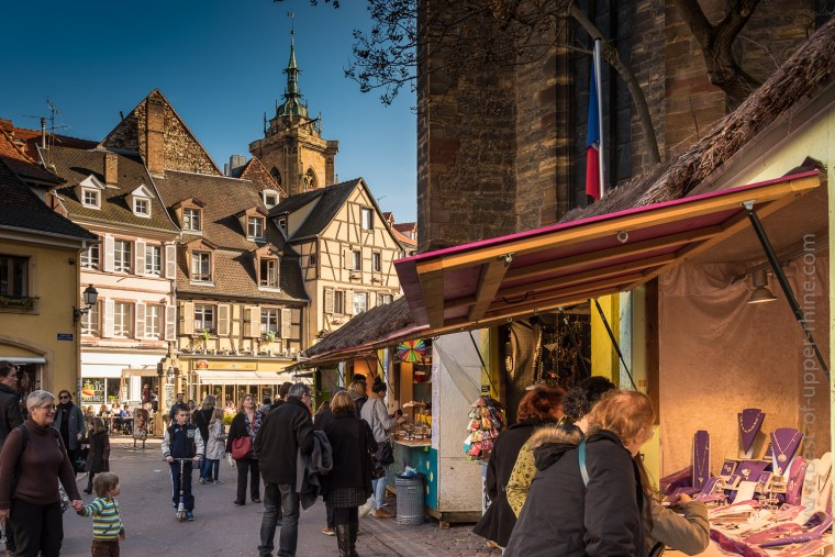 Easter and Spring Market around the Dominican Church in Colmar.