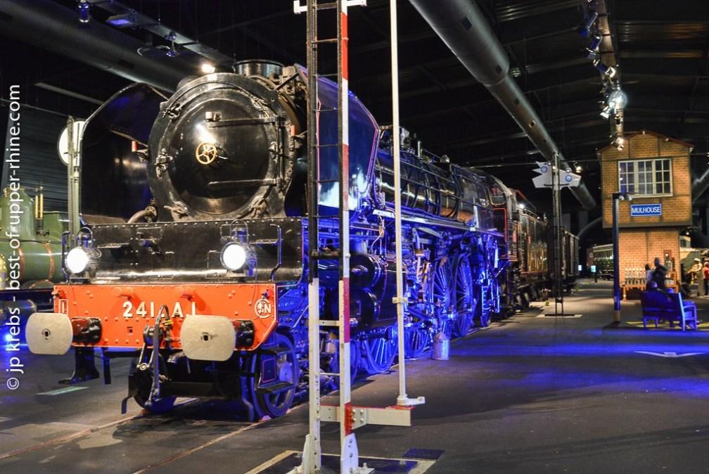 Cité du Train in Mulhouse, Alsace.