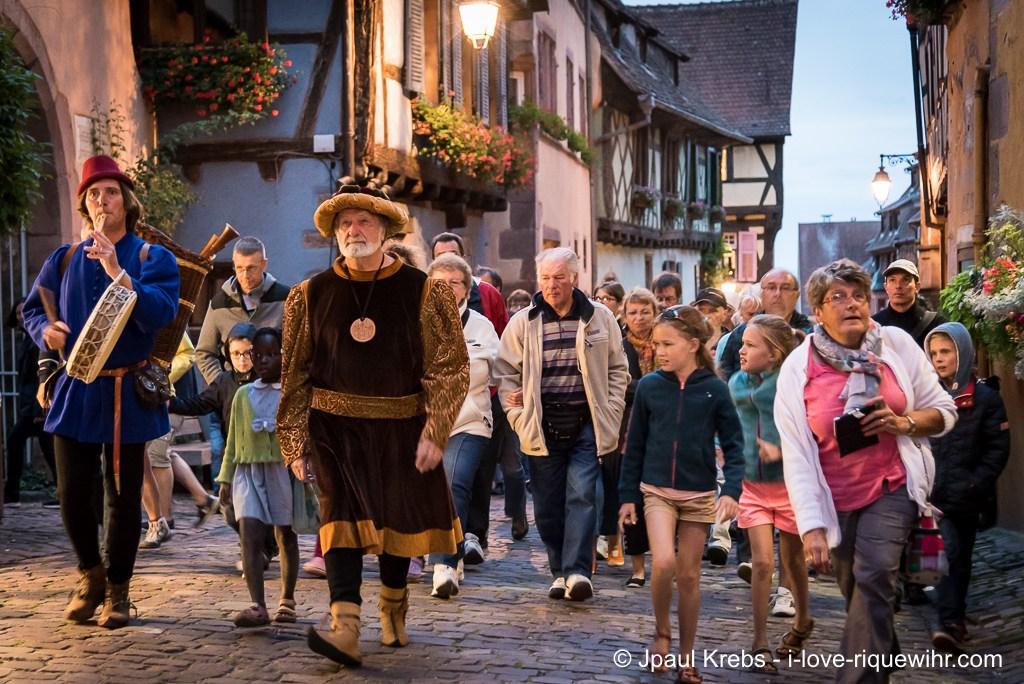 Visit Riquewihr with Daniel Ehret guide lecturer in Renaissance costume ...