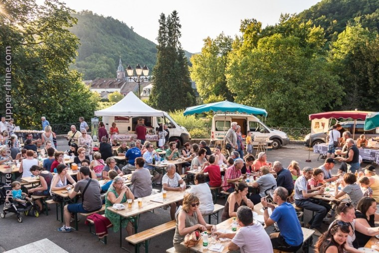 Ste-Croix-aux-Mines, summer market, from June to September, every Tuesday evening.