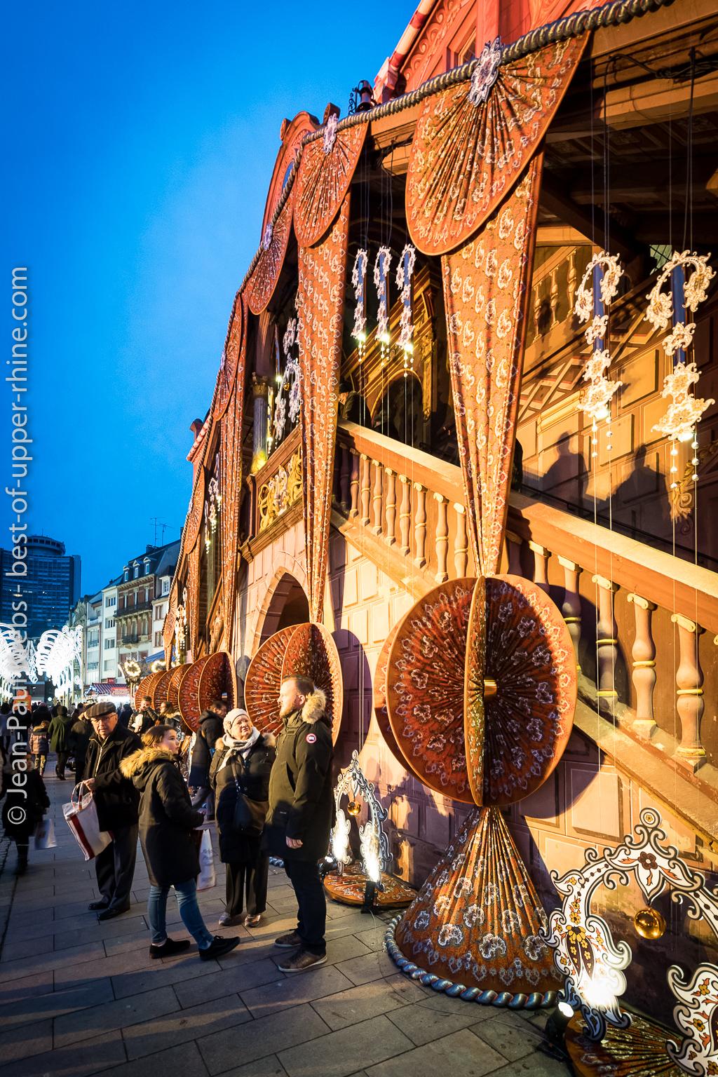 Mulhouse Christmas market and Christmas Fabric.