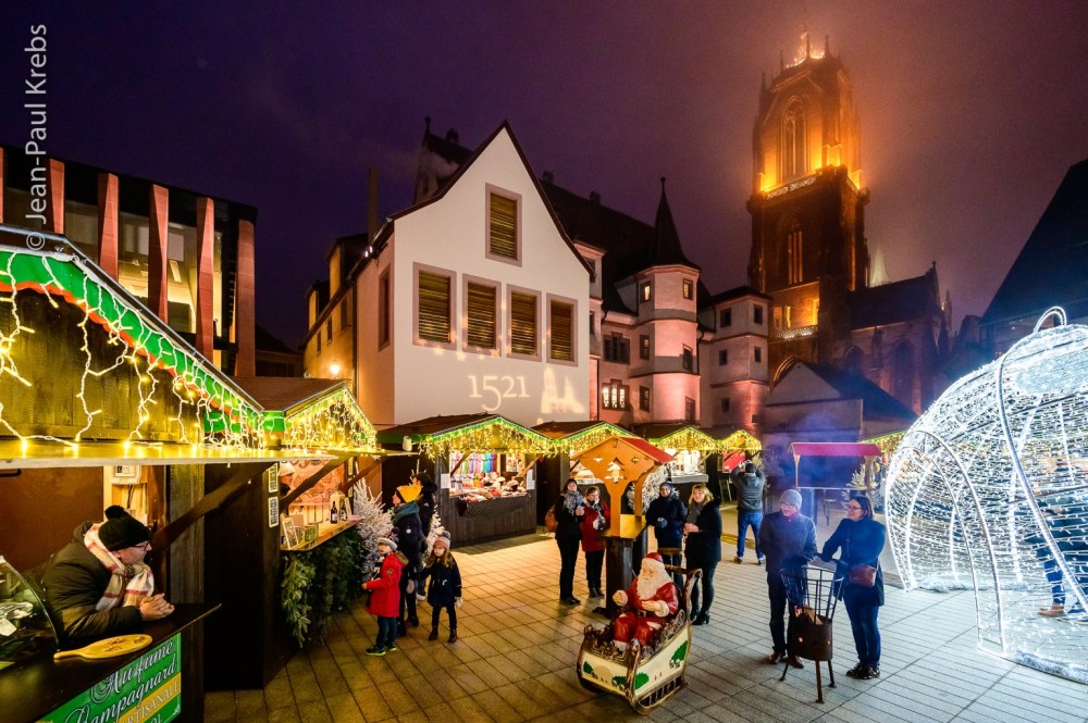 The new Christmas Market in Selestat