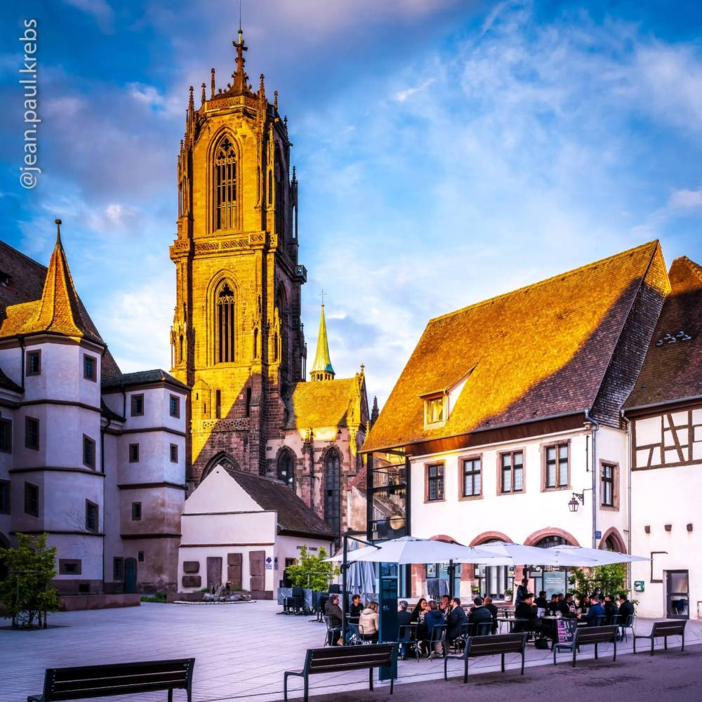 In the historic and medieval heart of Sélestat …
