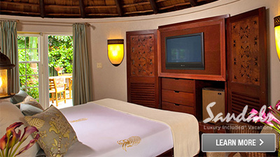 Sandals Antigua best places to sleep