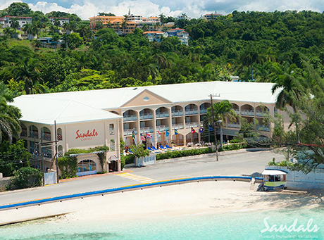 sandals inn jamaica luxury hotel